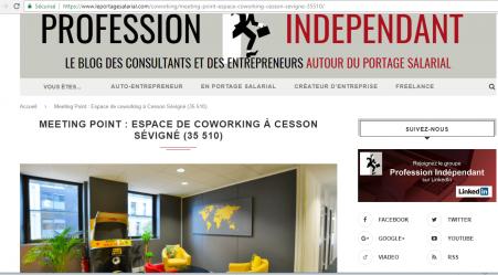 """Blog """"Profession Indépendant"""""""