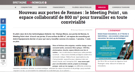 Article Bretagne Economique
